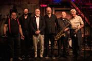 Markus Lüpertz mit Manfred Schoof, Gerd Dudek, Wolfgang Lackerschmid, Frank Wollny und Samuel Dühsler
