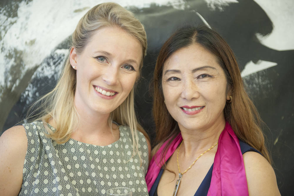 Ling Zhoushi and Anna Eisner