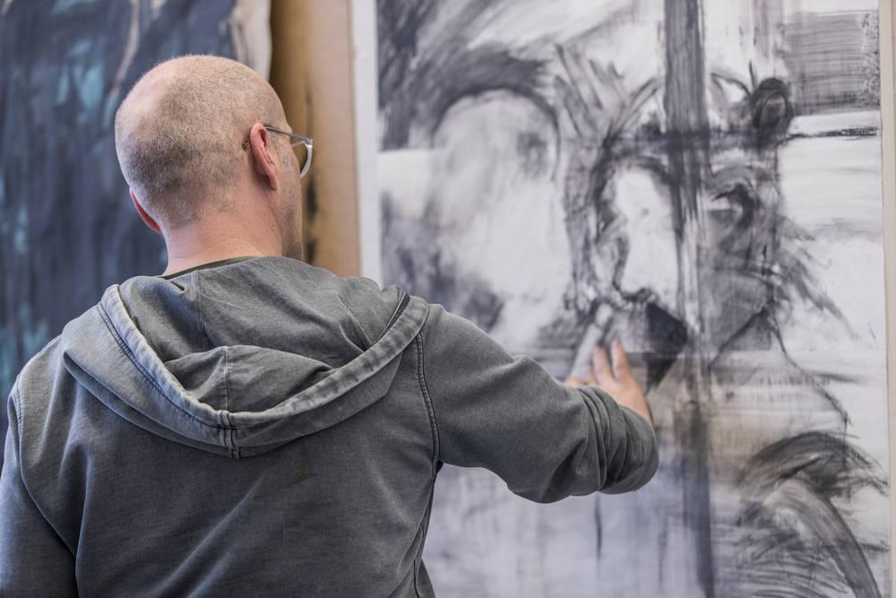 Studium Malerei und Zeichnung bei Matthias Kroth / Wassong