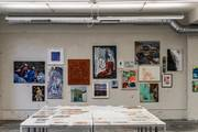 Hängung zum Supermarkt der Kunst 2019
