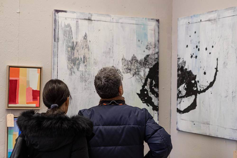 Besucher Supermarkt der Kunst 2019